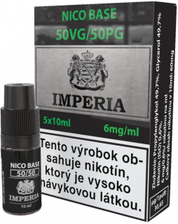 báza IMPERIA FIFTY 50/50 5x10ml - 6mg