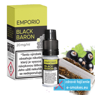 e-liquid Emporio Salt BLACK BARON 10ml - 20mg